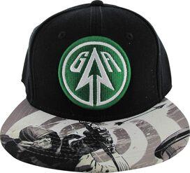 Green Arrow TV Sublimated Bill Snapback Hat