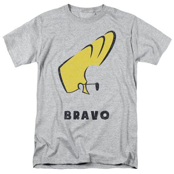 Johnny Bravo Johnny Hair Short Sleeve Adult Athletic T-Shirt