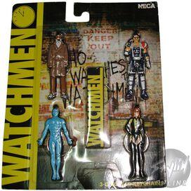 Watchmen Characters Keychain Set