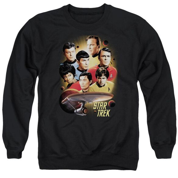 Star Trek Heart Of The Enterprise Adult Crewneck Sweatshirt