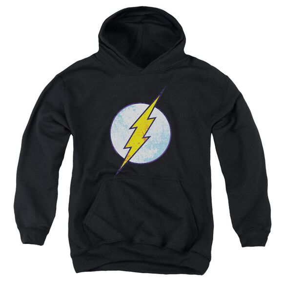 Dco Flash Neon Distress Logo Youth Pull Over Hoodie