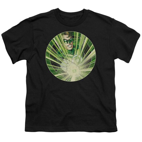 Green Lantern Light Em Up Short Sleeve Youth T-Shirt