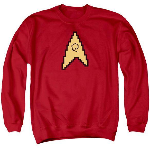 Star Trek 8 Bit Engineering Adult Crewneck Sweatshirt
