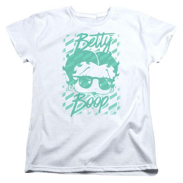 Betty Boop Summer Shades Short Sleeve Womens Tee T-Shirt
