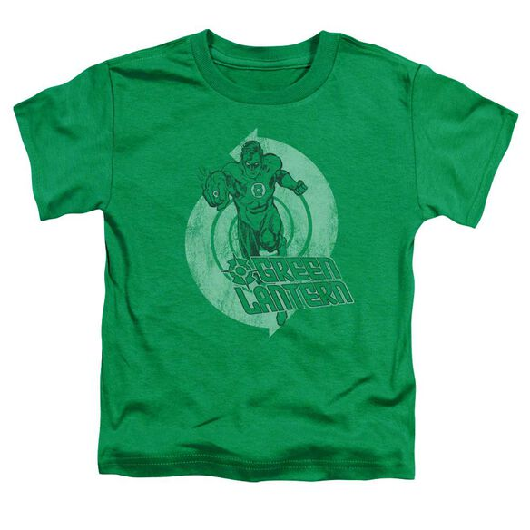 Green Lantern Power Short Sleeve Toddler Tee Kelly Green Sm T-Shirt