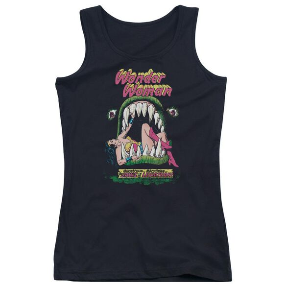 Dc Jaws - Juniors Tank Top - Black