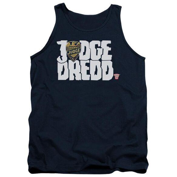 Judge Dredd Logo Adult Tank