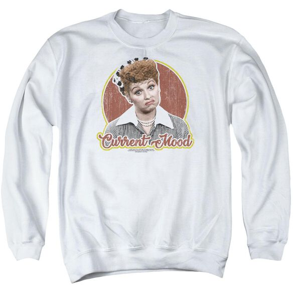 I Love Lucy Current Mood Adult Crewneck Sweatshirt
