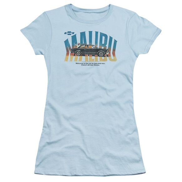 Chevrolet Thumbs Up Short Sleeve Junior Sheer Light T-Shirt