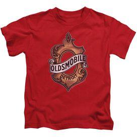 Oldsmobile Detroit Emblem Short Sleeve Juvenile T-Shirt
