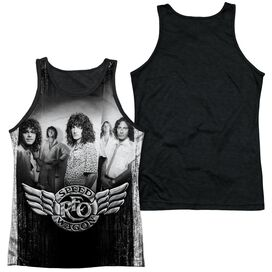 Reo Speedwagon Want A Ride Adult Poly Tank Top Black Back