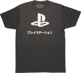 PlayStation Foil Logo T-Shirt Sheer