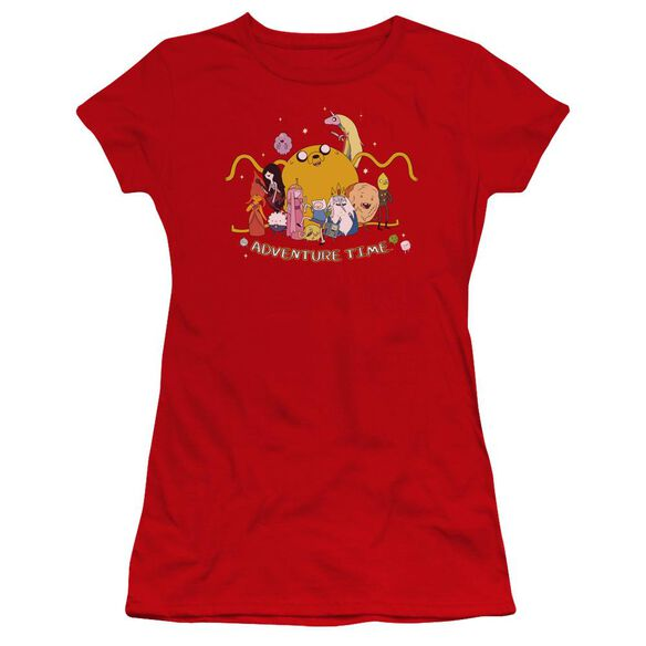 Adventure Time Outstretched Hbo Short Sleeve Junior Sheer T-Shirt