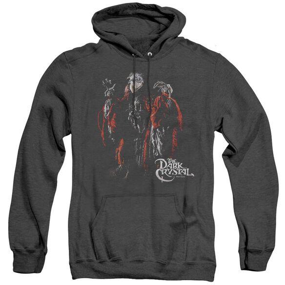 DARK CRYSTA KEKSIS - ADULT HEATHER HOODIE - BLACK T-Shirt