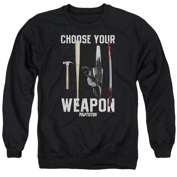 Pulp Fiction Choices Adult Crewneck Sweatshirt