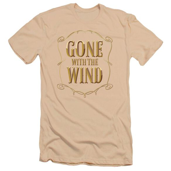 Gone With The Wind Logo Premuim Canvas Adult Slim Fit
