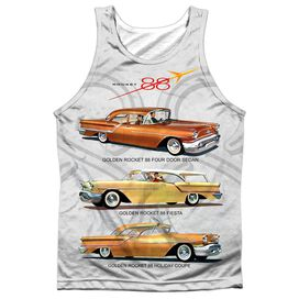 Oldsmobile Rocket Line Adult Poly Tank Top