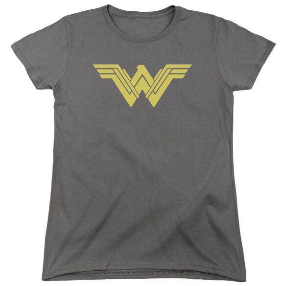 Batman V Superman Clean Line Logo Short Sleeve Womens Tee T-Shirt