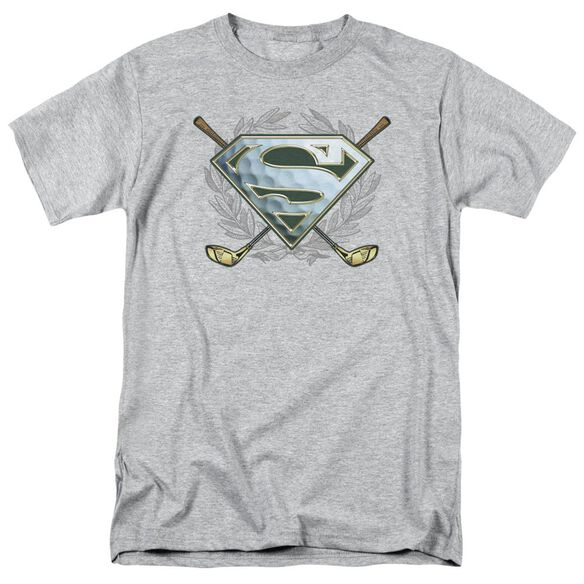Superman Fore! Short Sleeve Adult Athletic T-Shirt