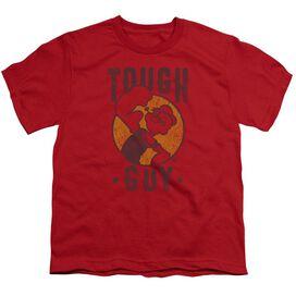 Popeye Tough Guy Short Sleeve Youth T-Shirt