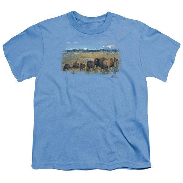 Wildlife The Passing Herd Short Sleeve Youth Carolina T-Shirt