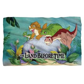 Land Before Time Littlefoot And Friends Fleece Blanket