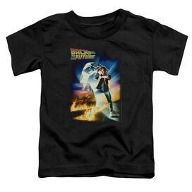 BACK TO THE FUTURE POSTER - S/S TODDLER TEE - BLACK - MD (3T) - Black - T-Shirt