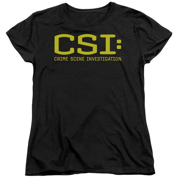 Csi Logo Short Sleeve Womens Tee T-Shirt