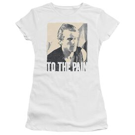 Princess Bride To The Pain Short Sleeve Junior Sheer T-Shirt