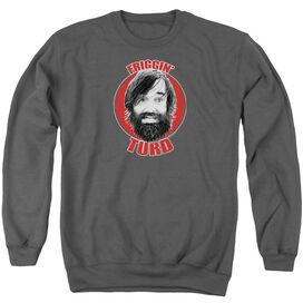 Last Man On Earth Friggin Turd Adult Crewneck Sweatshirt
