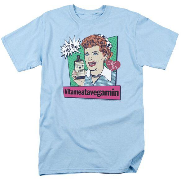 I Love Lucy Vita Comic Short Sleeve Adult Light T-Shirt