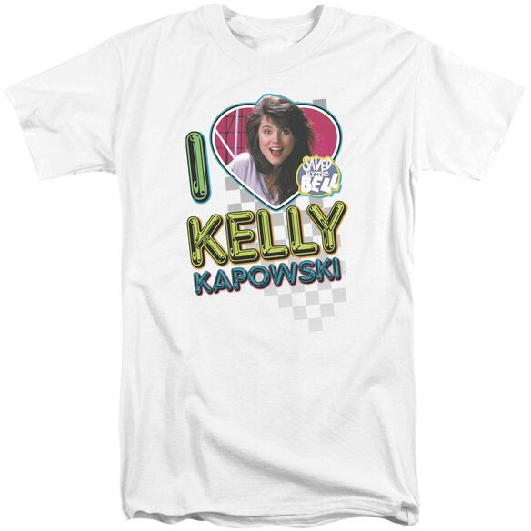 Saved By The Bell I Love Kelly Short Sleeve Adult Tall T-Shirt