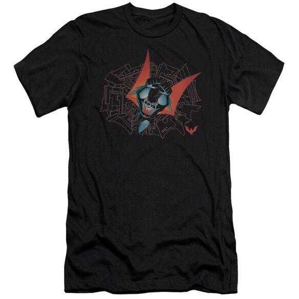 Batman Beyond Swooping Down Short Sleeve Adult T-Shirt