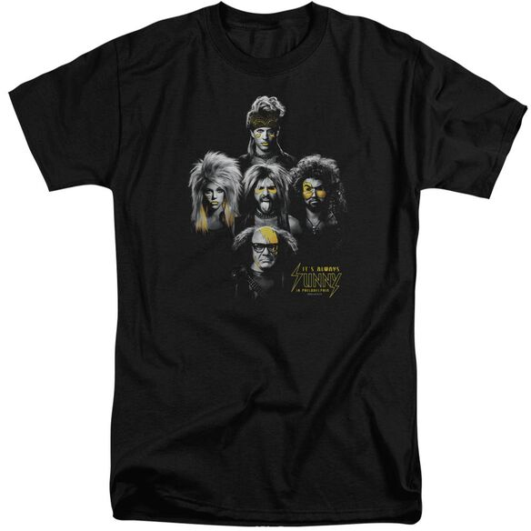 Its Always Sunny In Philadelphia Rocker Heads Short Sleeve Adult Tall T-Shirt