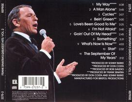 Frank Sinatra - Frank Sinatra's Greatest Hits, Vol. 2