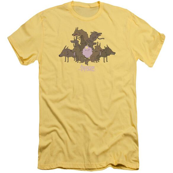 Adventure Time Lsp & Wolves Short Sleeve Adult T-Shirt