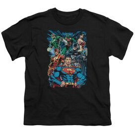 Jla Justice Is Served Short Sleeve Youth T-Shirt