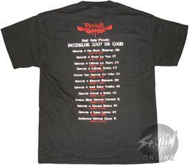 Metalocalypse Dethklok Tour T-Shirt