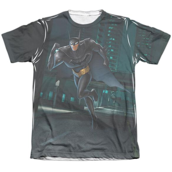 Beware The Batman Run Adult Poly Cotton Short Sleeve Tee T-Shirt