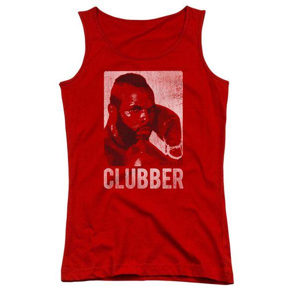 Rocky Iii Clubber Lang Juniors Tank Top