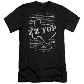 Zz Top Barbed Premuim Canvas Adult Slim Fit