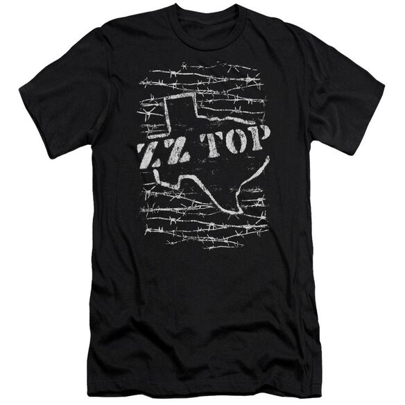 Zz Top Barbed Short Sleeve Adult T-Shirt