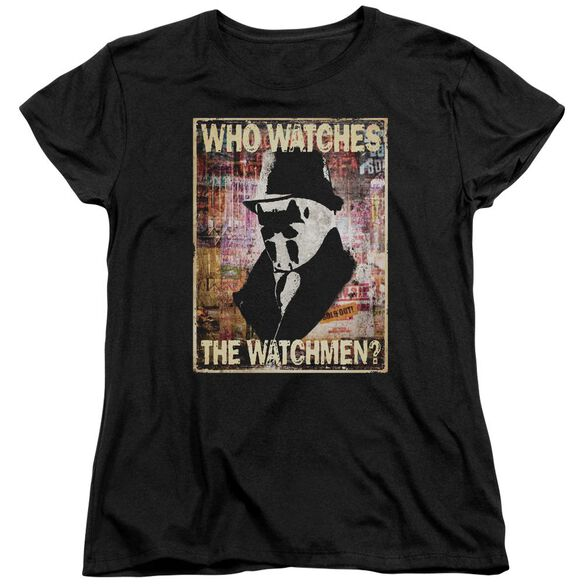 Watchmen Who Watches Short Sleeve Womens Tee T-Shirt