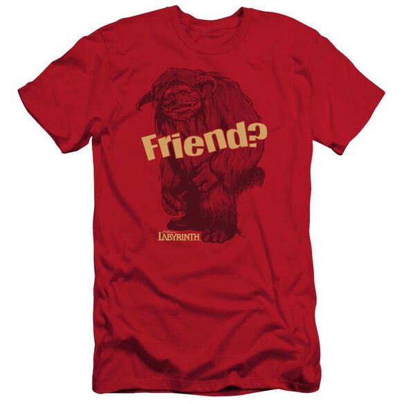 Labyrinth Ludo Friend Short Sleeve Adult T-Shirt