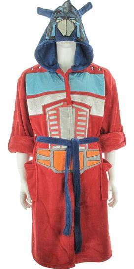 Transformers Optimus Prime Masked Hooded Robe