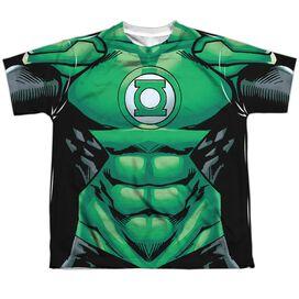 Green Lantern Uniform Short Sleeve Youth Poly Crew T-Shirt
