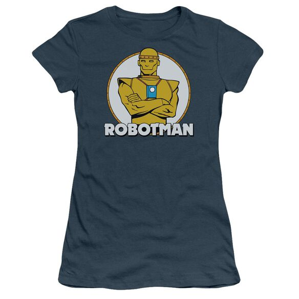 Dc Robotman Short Sleeve Junior Sheer T-Shirt