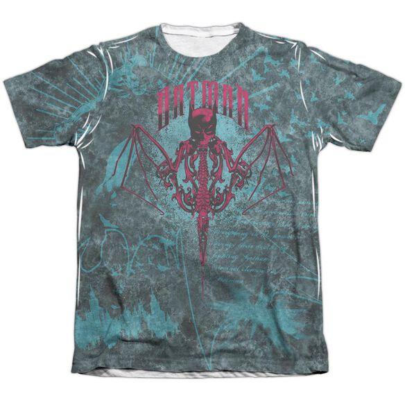 Batman Carpe Nocturn Adult 65 35 Poly Cotton Short Sleeve Tee T-Shirt