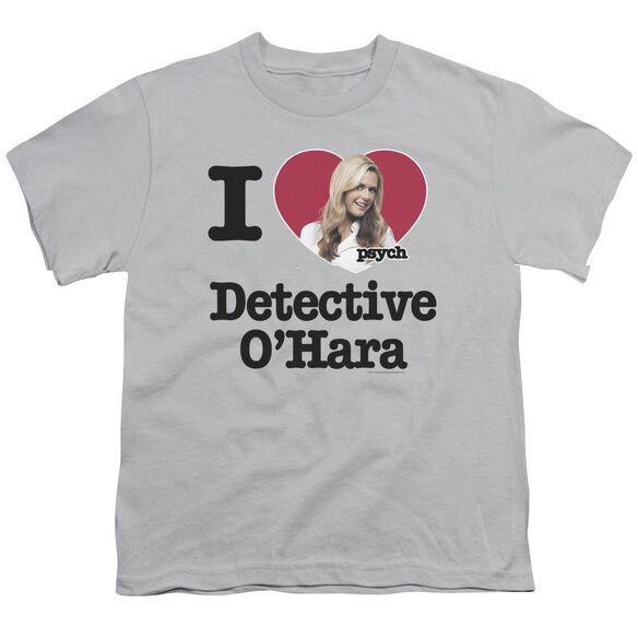 Psych I Heart O'hara Short Sleeve Youth T-Shirt