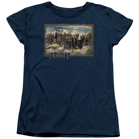 The Hobbit Hobbit & Company Short Sleeve Womens Tee T-Shirt